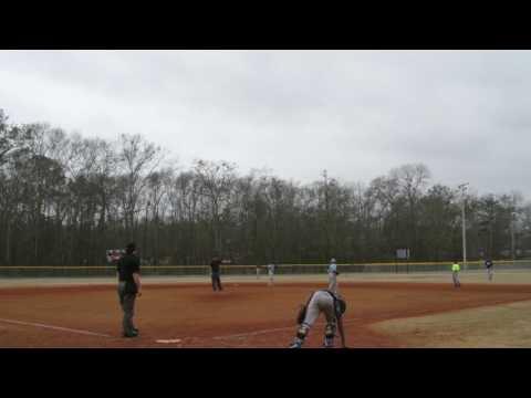2017 Georgia Lookouts Baseball Spring training game