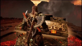 God of war: Last min training before New game + Muspelheim & Niflheim!! PS4