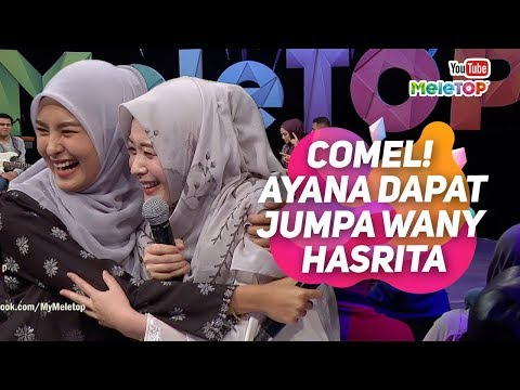 COMEL Influencer Korea Ayana Jihye Moon yg menetap di Indonesia dapat jumpa Wany Hasrita   MeleTOP
