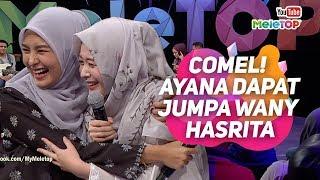 COMEL Influencer Korea Ayana Jihye Moon yg menetap di Indonesia dapat jumpa Wany Hasrita ...