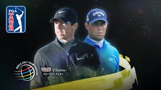 Rory Mcilroy Defeats Gary Woodland 4 & 2 At The 2015 Wgc Dell Match Play