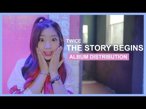 TWICE - The Story Begins - Album Distribution