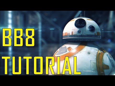 BB8 Tutorial/Overview - Element 3D (Star Pack)