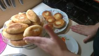 Пирожки с капустой и яйцом в мультиварке