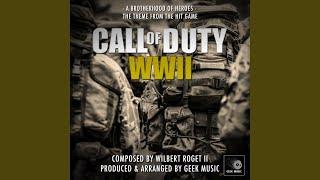 Video Call Of Duty WW2 - A Brotherhood Of Heroes - Main Theme download MP3, 3GP, MP4, WEBM, AVI, FLV November 2018