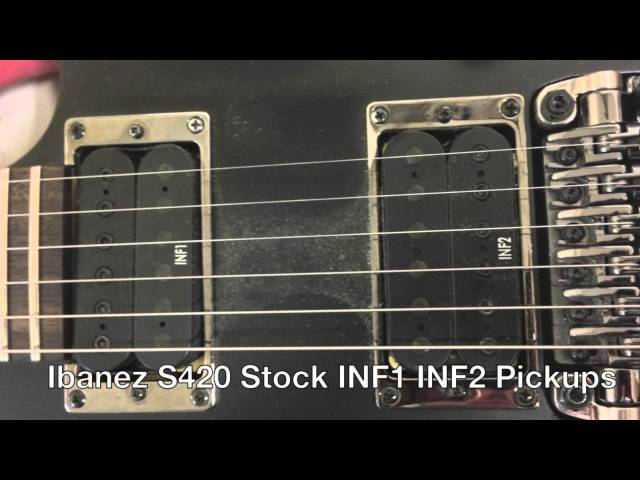 Ibanez Rg420 Wiring Diagram For Electric Guitar Changing The Pickups In An S420 Inability To Follow Simple Instructions