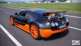 Bugatti Veyron 16.4 Grand Sport Production Start Videos
