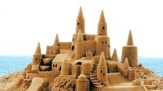 Замок из живого (кинетического) песка(Замок из живого (кинетического песка., 2016-03-21T18:22:40.000Z)