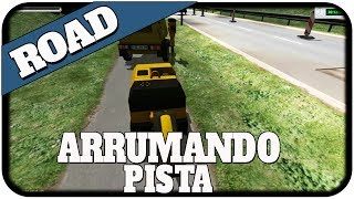 Road Construction Simulator 2011 - Tampando buraco na pista