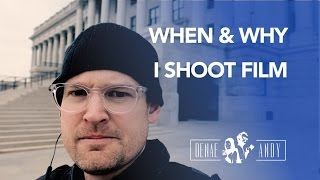 When & Why I Shoot Film - Photo Vlog #10 w/ the Rollei 35 & Fujix X-T2, 16 1.4