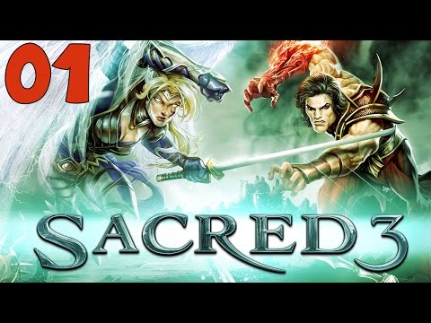 """Sacred 3 Walkthrough Part 1 """"Welcome to Ancaria"""" Gameplay Playthrough"""