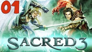 "Sacred 3 Walkthrough Part 1 ""Welcome to Ancaria"" Gameplay Playthrough"
