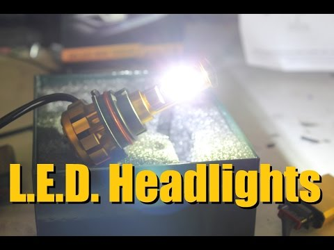 AUXBEAM L.E.D. Headlight Replacement bulb | AnthonyJ350