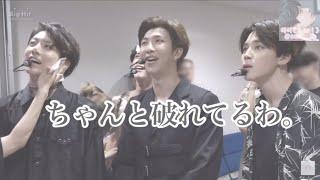【BTS日本語字幕】ナムジュンさんがジョングクさんのシャツを破った件
