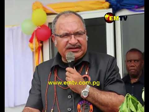 PM O'Neill Commits to Giving Autonomy to New Ireland and East New Britain