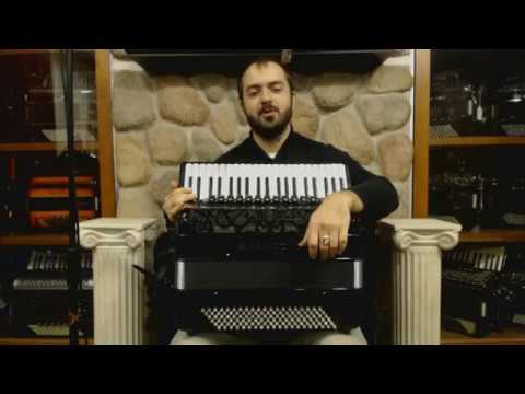 Technical Exercises for Piano Accordion - Lesson 9  - Left Hand - Fingerings & Repeated Notes
