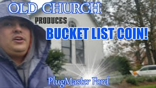 OLD CHURCH Produces Bucket LIST COIN | Metal Detecting | OHIO | PlugMaster Ford - Anfibio