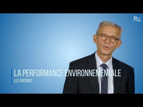 La performance environnementale