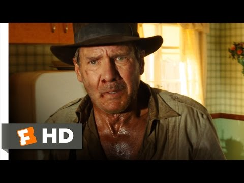 Indiana Jones 4 210 Movie CLIP  Saved  the Fridge 2008 HD