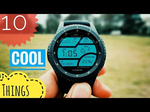 10 cool things to do with Samsung Gear S3 Frontier!