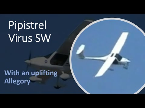 Pipistrel Virus SW beautiful new plane and allegory
