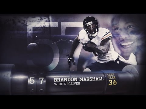 #57 Brandon Marshall (WR, Jets)   Top 100 Players of 2015