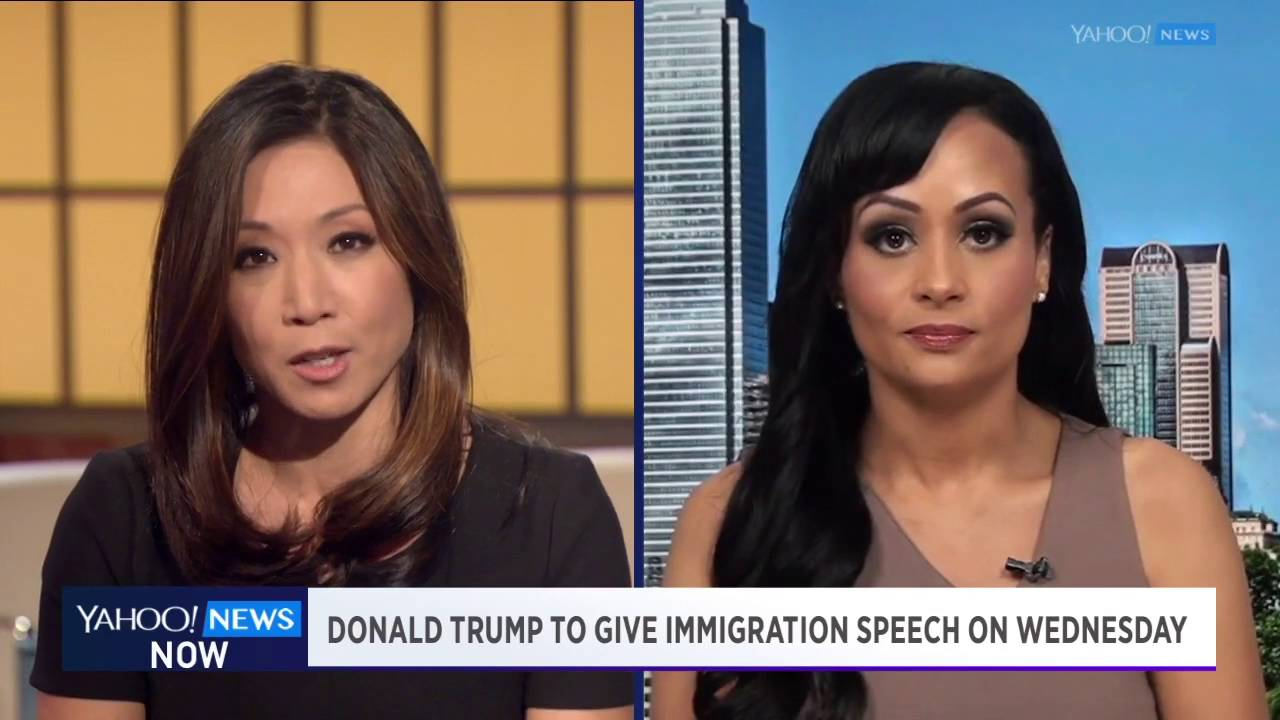 Yahoo news - Yahoo News Now Trump Spokesperson Katrina Pierson On Campaigns Apparent Shift In Immigration Policy