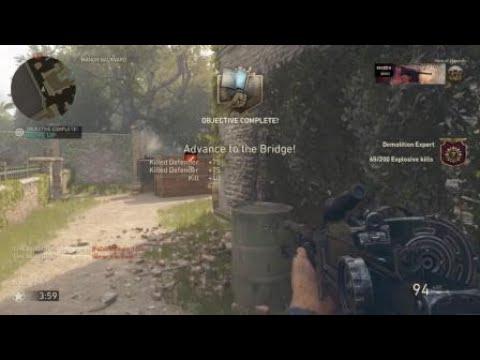 Call of Duty®: WWII full team bazooka wreck