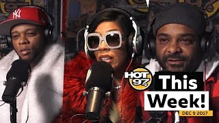 Jim Jones & Uncle Murder on Ma$e,Papoose & K. Michelle + MORE on HOT 97 This Week!
