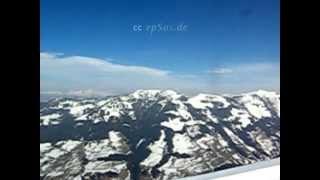 Ski lift in Zillertal Alpine Mountains of Austria