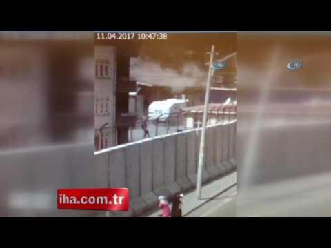 Diyarbakırdaki patlama saniye saniye böyle görüntülendi