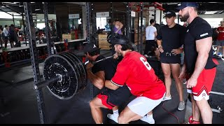 BIG REP PR's OΝ LEG DAY WITH THE BOYS