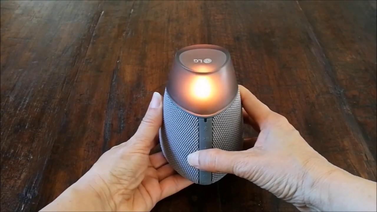 Kết quả hình ảnh cho LG PH3 Candle Bluetooth Speaker