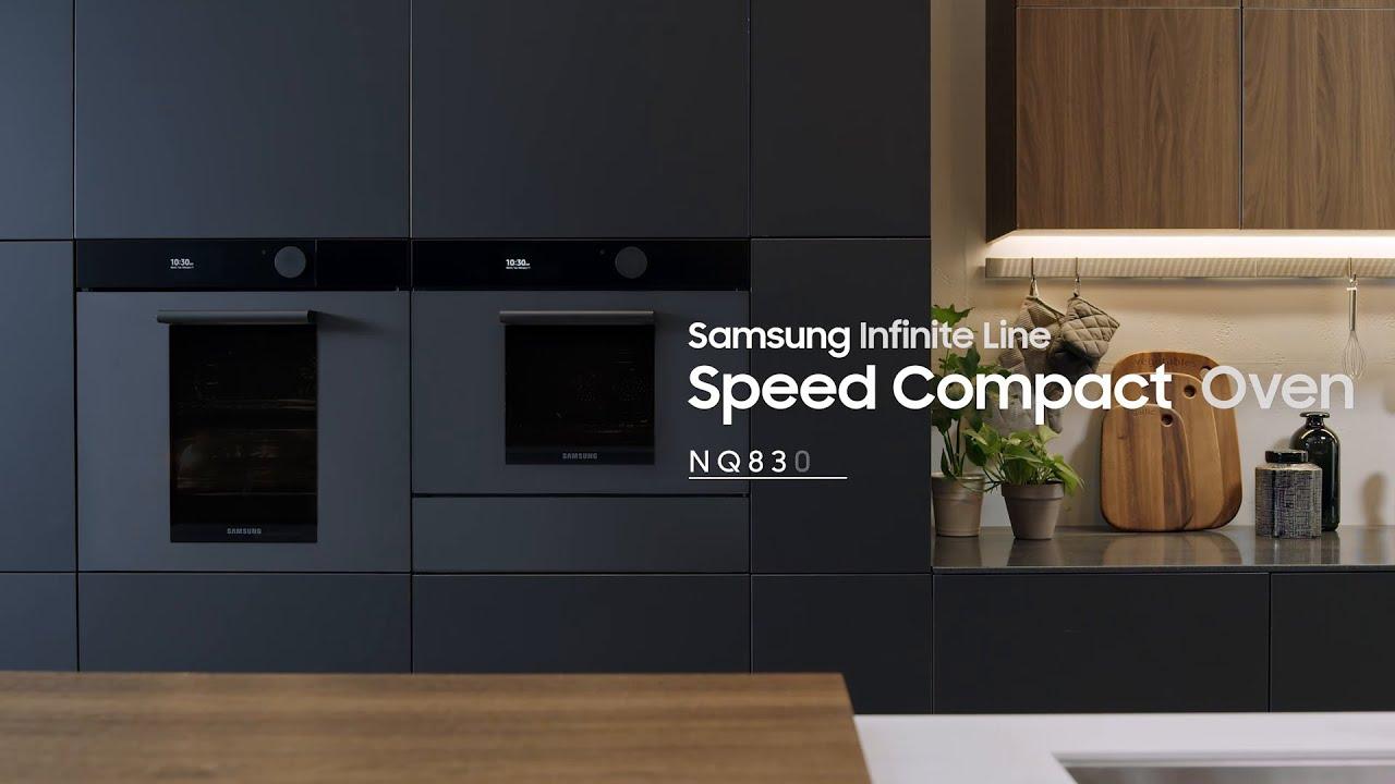 samsung built in kitchen appliances infinite line speed compact oven