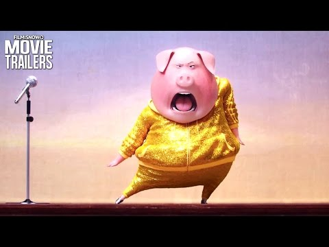 A City of Animals are Chasing Musical Dreams in new SING Trailer