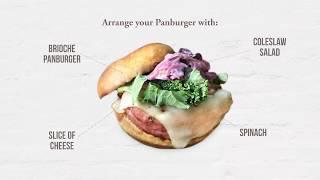 Teriyaki Chicken Burger Recipe  PAN BURGER  EUROPASTRY