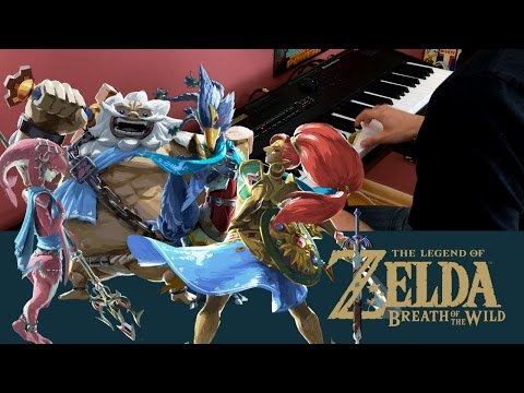 The Legend of Zelda: Breath of the Wild  Champion Themes - Piano Medley