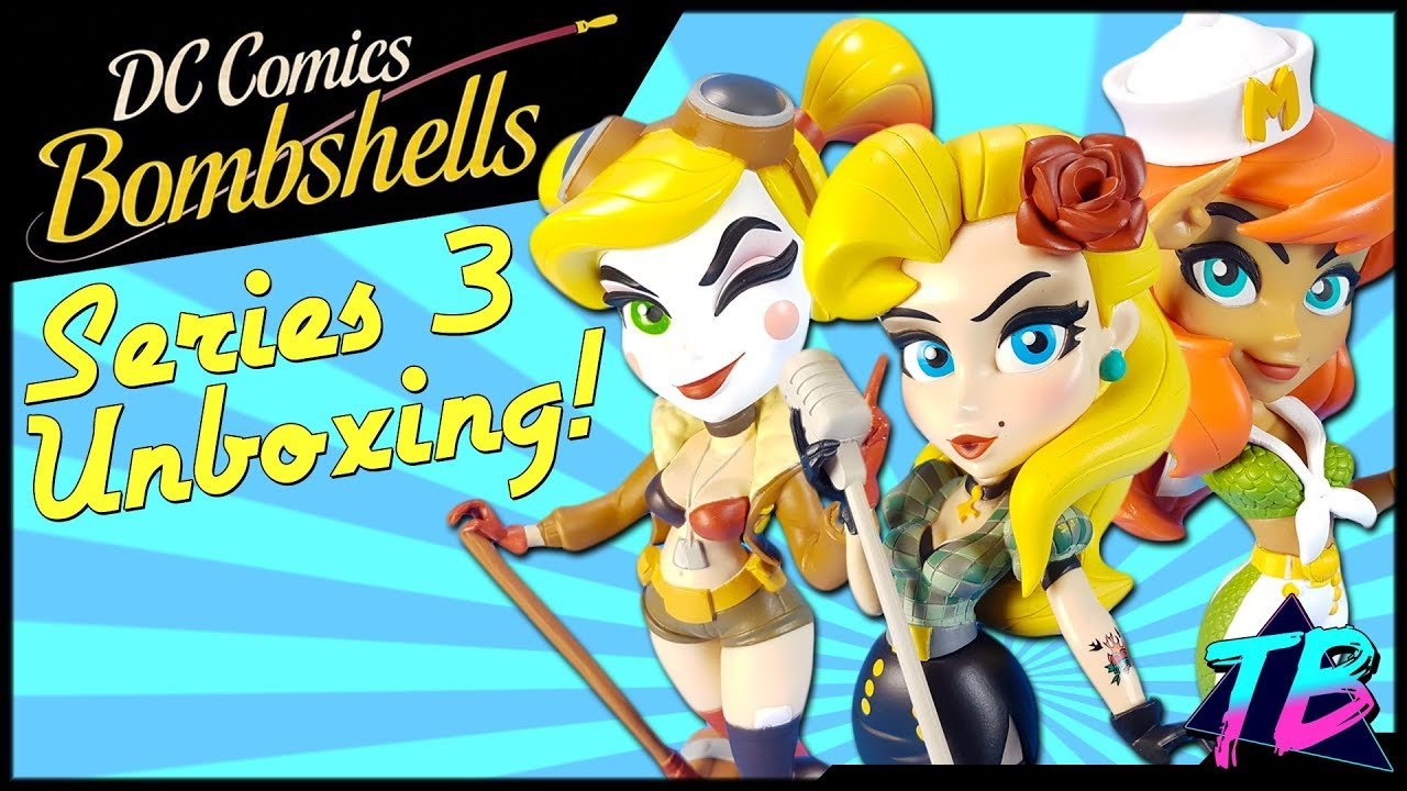 6c9d05f19e DC Bombshells Series 3 & Bag Clips from Cryptozoic - Tracey's Basement