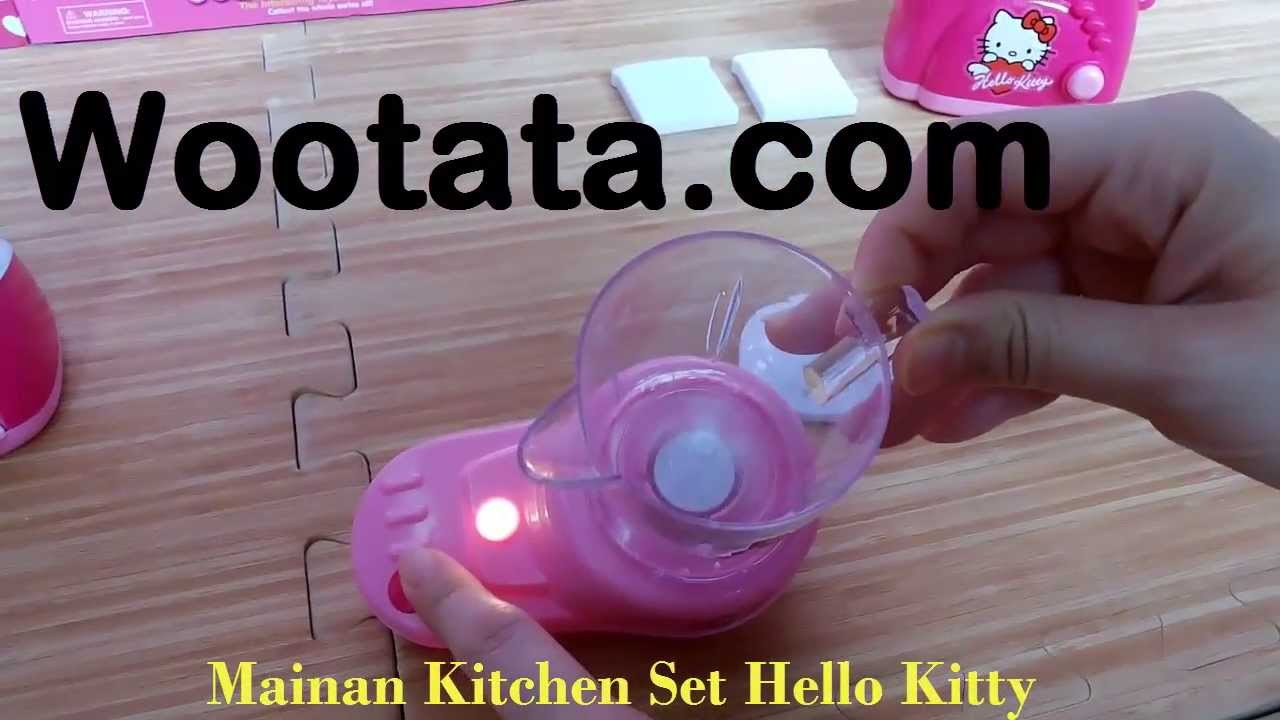 Mainan kitchen set anak hello kitty terbaru youtube for Kitchen set anak