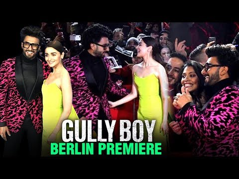 Gully Boy WORLD PREMIERE In Berlin | Berlinale 2019 INSIDE VIDEOS