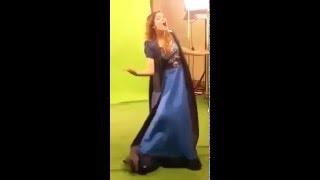 Клип Libre Soy с Мартиной Штоссель за кадром
