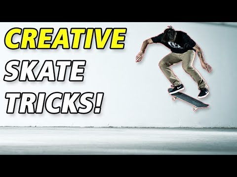 Most Creative Skateboard Tricks