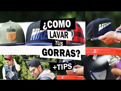 COMO LAVAR Y RENOVAR TUS GORRAS + TIPS - YouTube 892f7becba4