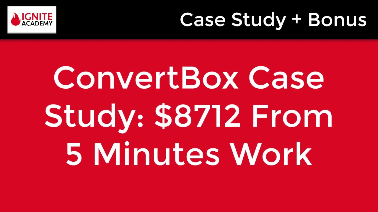 [Case Study] How I Made An Extra $8,712 In Sales Using A Simple 5 min Conversion Technique