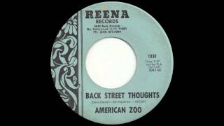 American Zoo - Back Street Thoughts (1968)