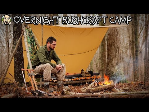 Overnight Bushcraft Camp