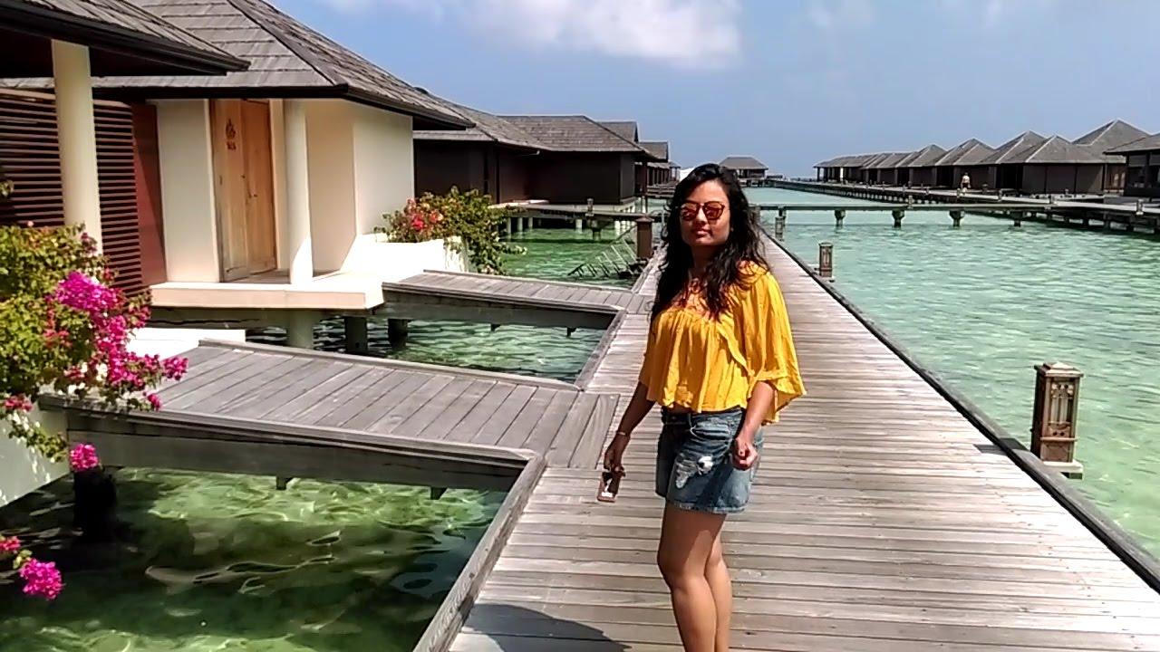 Maldives 2 Water Villa Paradise Island Youtube