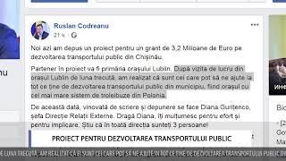 PROIECT PENTRU DEZVOLTAREA TRANSPORTULUI PUBLIC