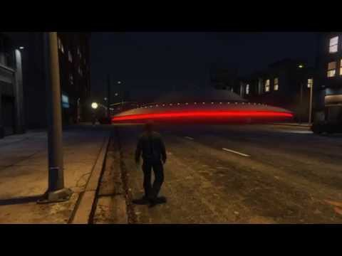 GTA 5 Online PC Crazy Mods(UFO and Asteroids!)