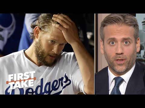 Max Kellerman doesn't want to hear excuses for Clayton Kershaw | First Take